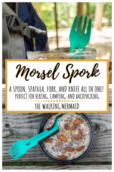 morsel spork utensil for camping hiking backpacking spatula spoon fork knife gear outdoors