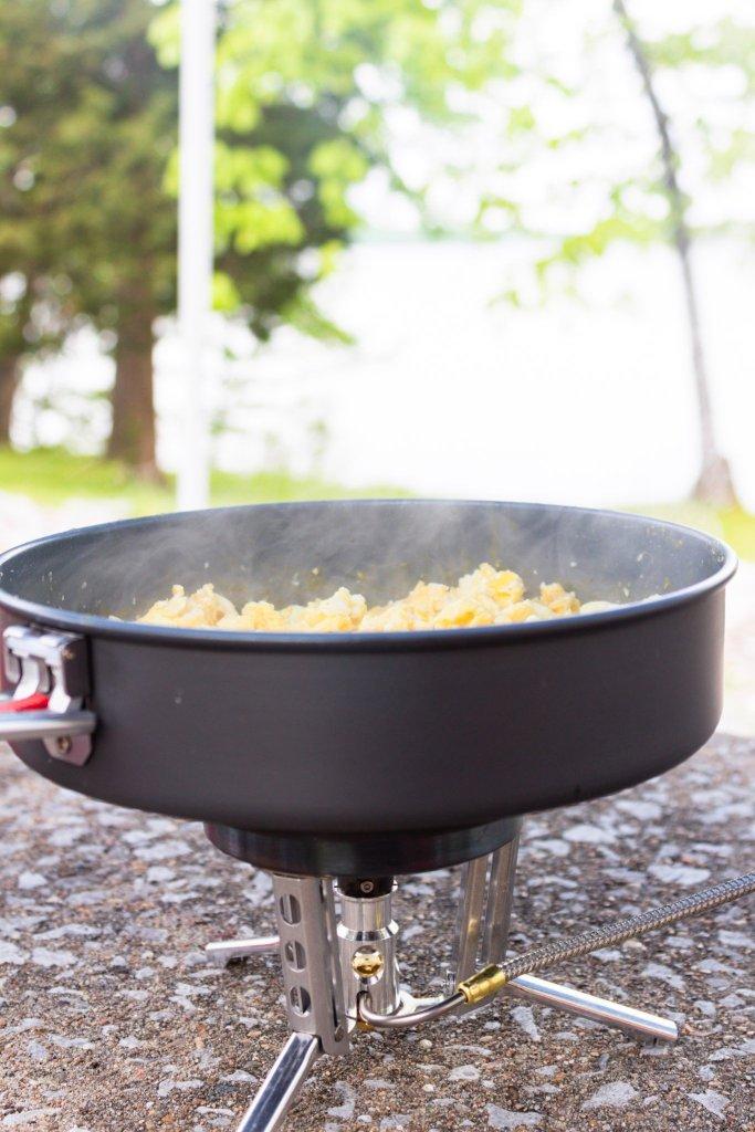 msr gear wind burner cooking stove system ceramic skillet