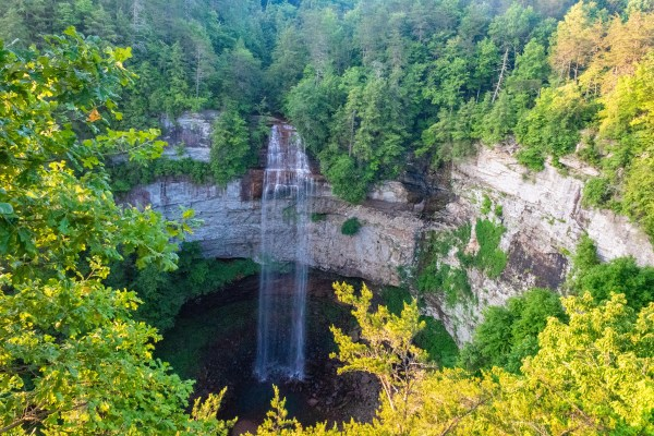 Fall Creek Falls State Park Tennessee Waterfalls Hiking outdoors