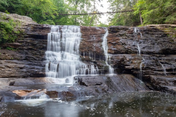cane creek falls rockhouse falls fall creek falls state park tennessee hiking nature outdoors