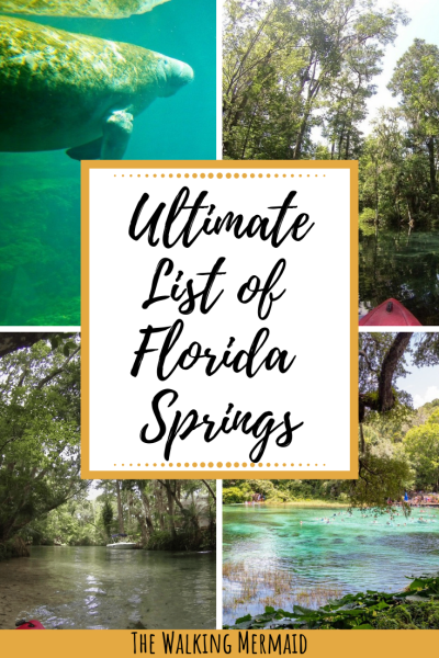 list of florida springs