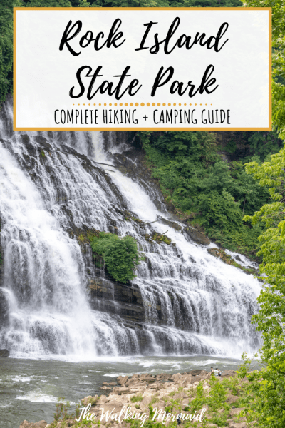 rock island state park twin falls hiking camping travel guide tennessee overlay pin image pinterest