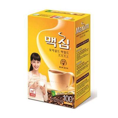 maxim korean instant coffee mocha gold mild