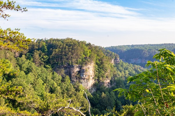 Fall Creek Falls State Park Tennessee rocky point overlook