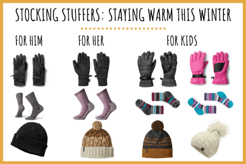 stocking stuffer ideas for outdoors to stay warm in the winter
