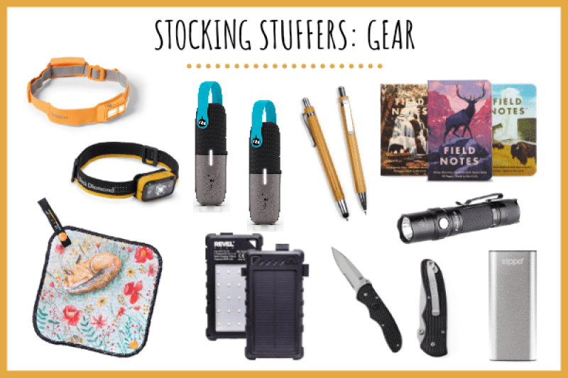 outdoor gear stocking stuffer ideas