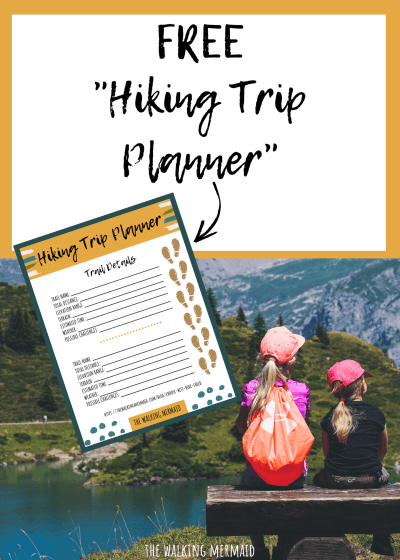 hiking trip planner the walking mermaid