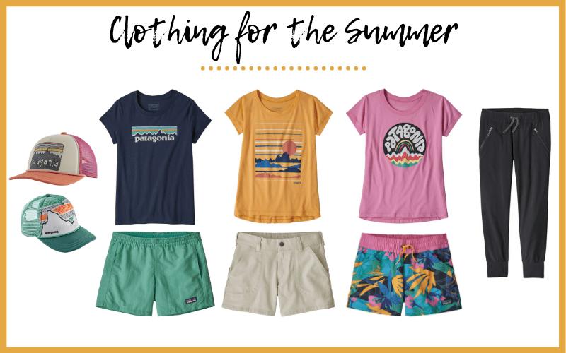Patagonia Kids Summer Clothing