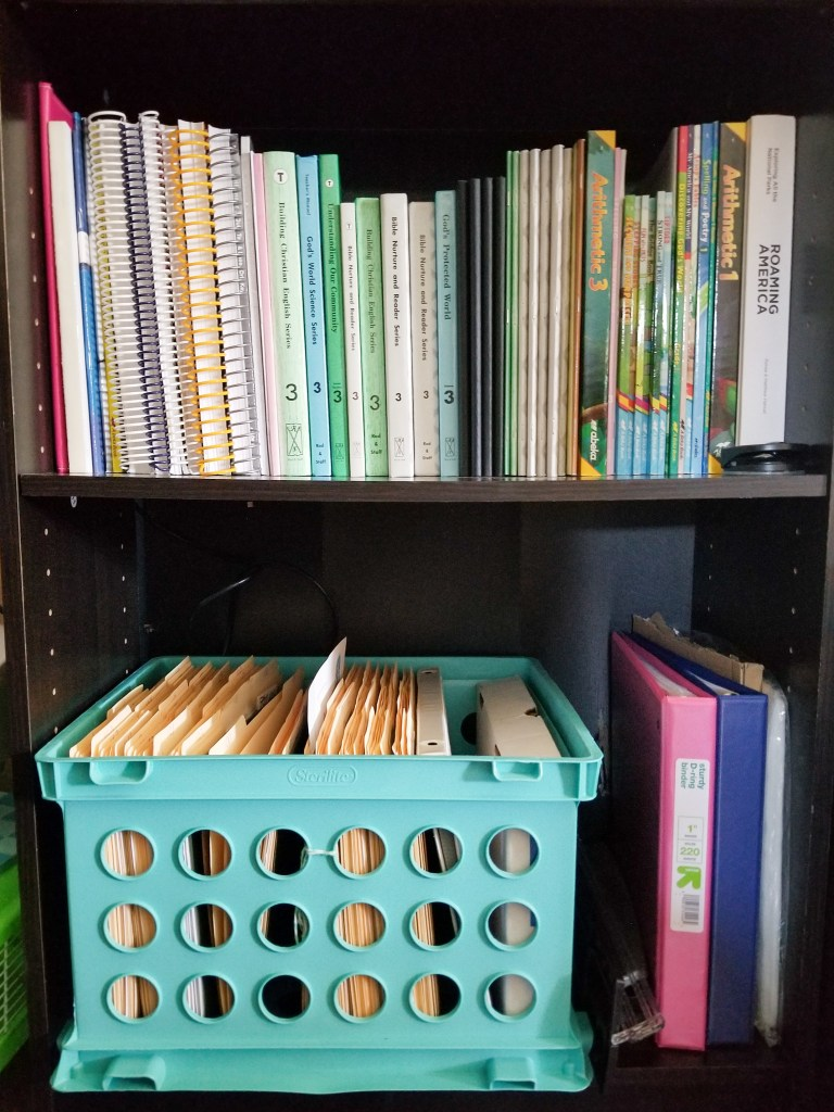 Homeschool Room Organization - The Walking Mermaid
