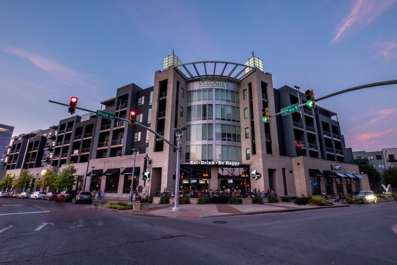 Ultimate Travel Guide To The Gulch in Nashville, Tennessee. Photo of the Locale Hotel at The Gulch in Nashville.