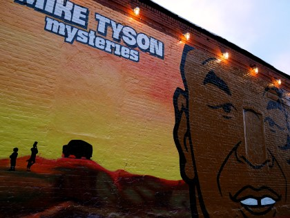 Mike Tyson Mysteries, Adult Swim, perfect Williamsburg advertisement