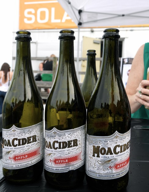 Moa Cider from New Zealand