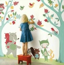 Detalle de habitación infantil