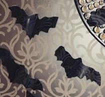 Papel pintado, detalle murciélagos