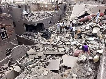 Sanaa rubble