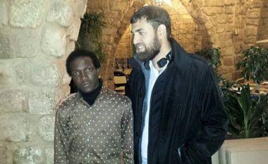 Hamad with Sarbaz Roohulla Rezvi
