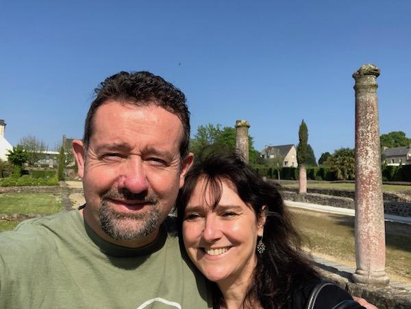Le Morse at some Roman ruins in Corseul