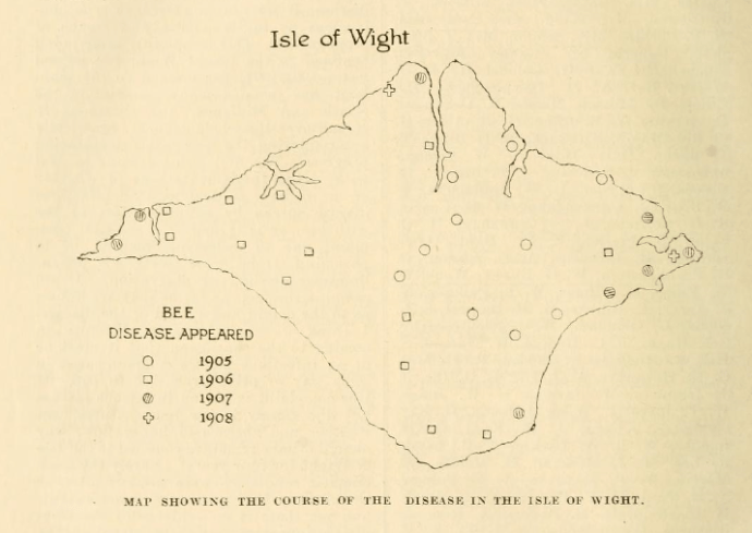 map-of-isle-of-wight-disease-spread