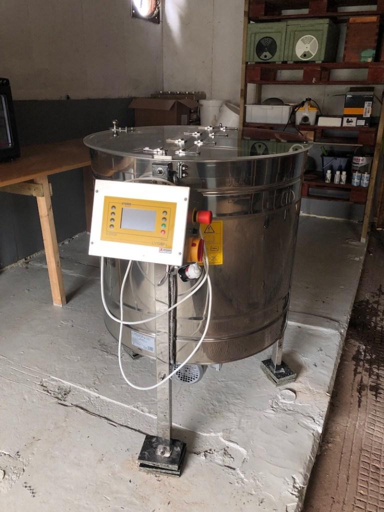 My New Honey Extractor