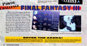 Final Fantasy III Contest Nintendo Power Feb1995