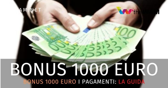 Bonus 1000 euro casse private