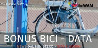Bonus bici date e giorni