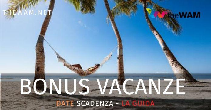 Bonus vacanze 2020 guida