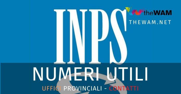 Uffici provinciali Inps contatti