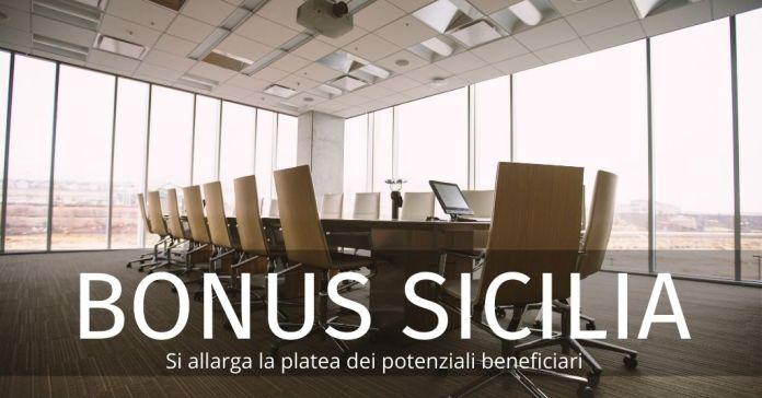 Bonus Sicilia: nuovi beneficiari per il bando dedicato alle imprese. Ecco chi sono