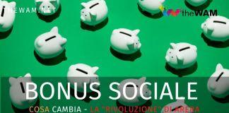 Bonus sociale 2021. Cosa cambia sugli sconti in bolletta