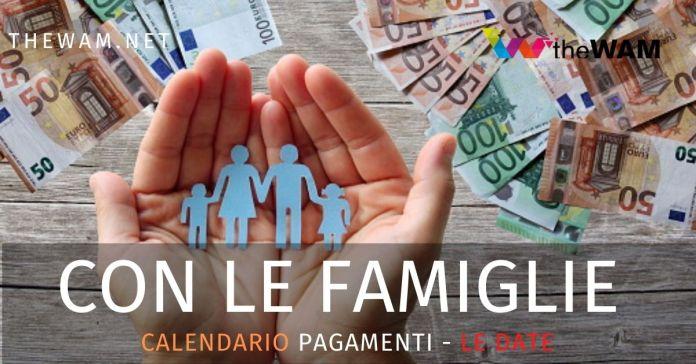 Con Le Famiglie Regione Campania graduatoria 7. Ecco la data dei pagamenti