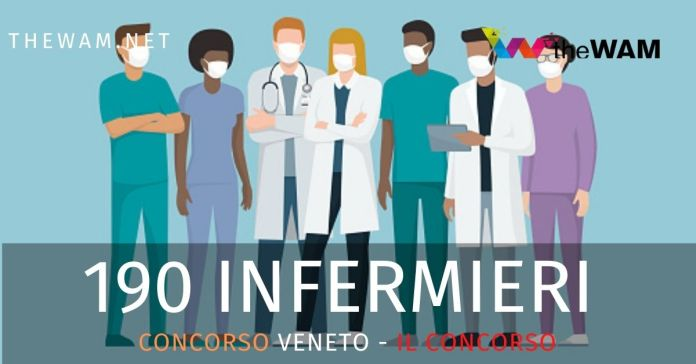 Concorso per infermieri Veneto 2020