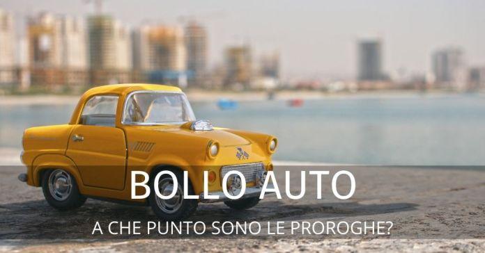 Bollo auto: scadenze, proroghe, esenzioni. Tutte le Info utili