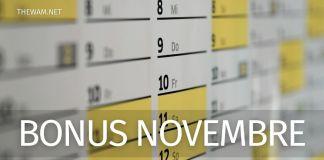 Reddito di emergenza e altri bonus: il calendario dei pagamenti di fine novembre 2020.