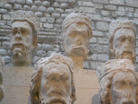 Heads of Kings from Notre Dame Musee Cluny