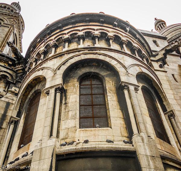 Sacre Coeur Gargoyles Montmartre