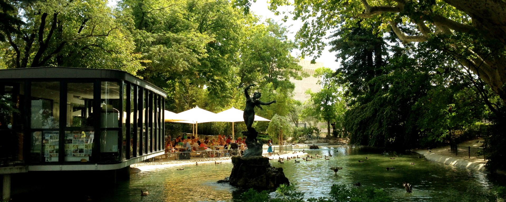 Finding The Parc Des Rocher Doms In Avignon The Wanderbug