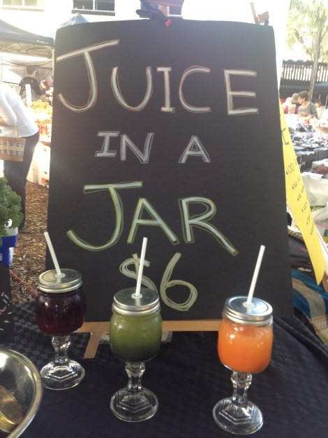 Juice in A Jar Davies Park Farmers Markets Brisbane