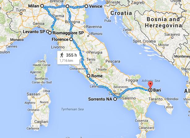Itinerary 2 weeks in Italy The Wanderbug