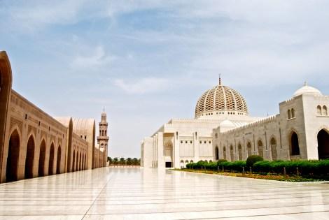 AF Oman -- Sultan Qaboos Grand Mosque Muscat-2