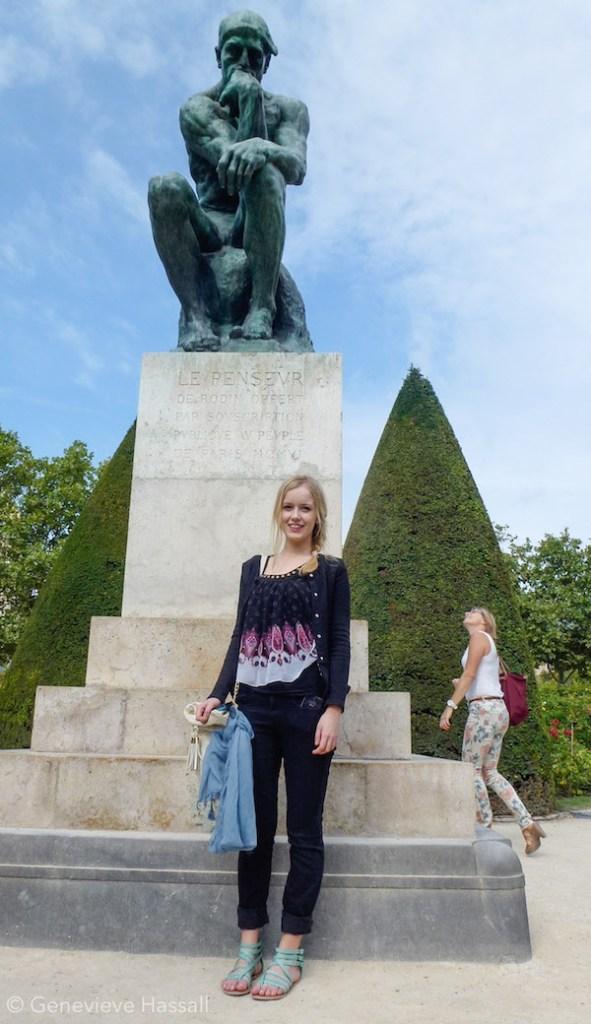 Le Penseur Musee Rodin Paris