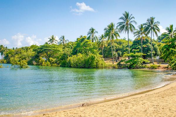 Small beach in Port Douglas Queensland Australia