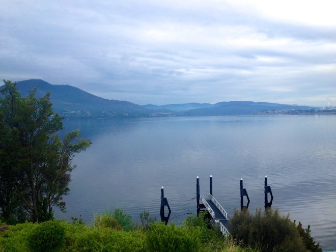 View from MONA's Cafe, Hobart