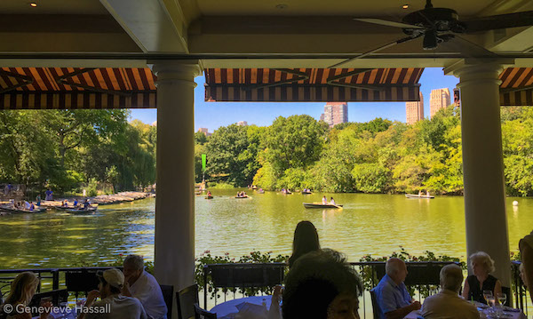Brunch at the Boathouse on the Lake Central Park
