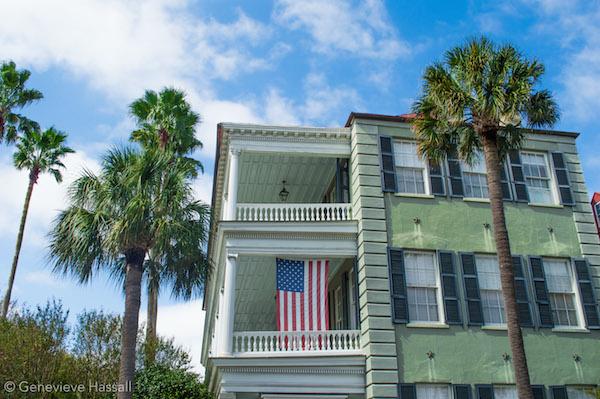 Green Mansion on the Battery Charleston SC