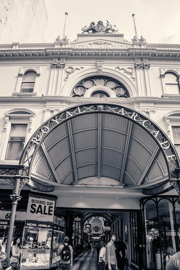 Melbourne's Royal Arcade
