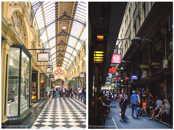 Royal Arcade and Centre Place Melbourne