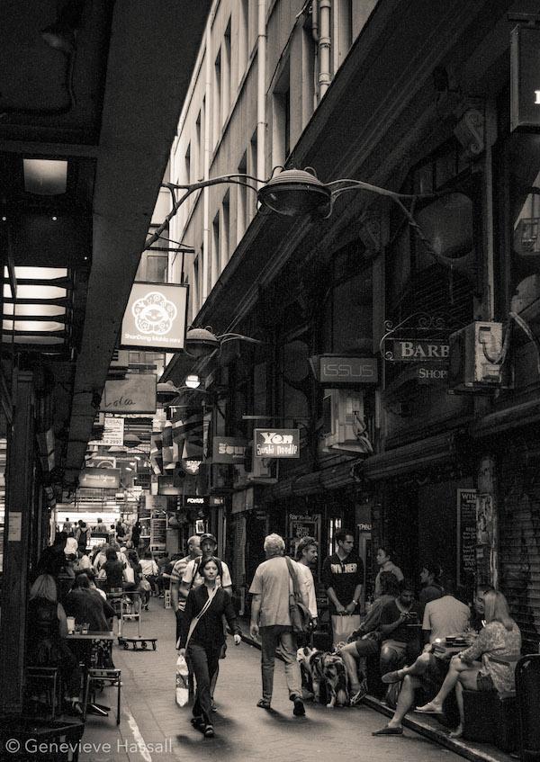 Melbourne's laneways Centre Place