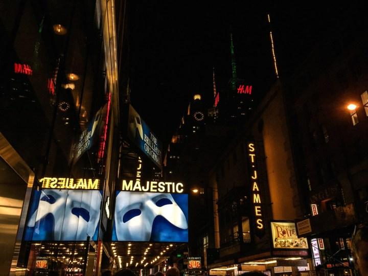 Phantom of the Opera NYC