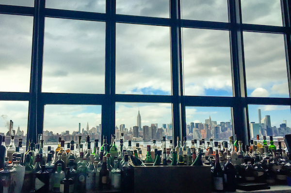 Views of New York City Wythe Hotel Rooftop Bar Williamsburg Brooklyn NYC